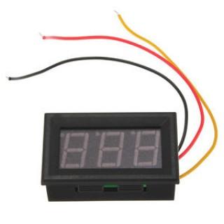 Цифровой вольтметр 4,5 - 30 В DSN-DVML-568-2(красный)