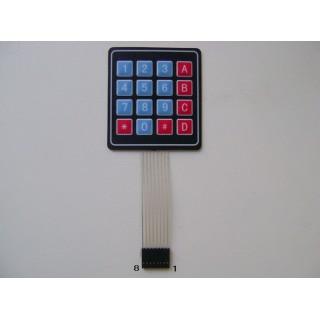 Клавиатура 4х4 кнопки