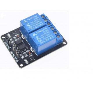 2-канальный релейный модуль 5В