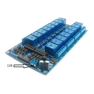 16-канальный релейный модуль 5В