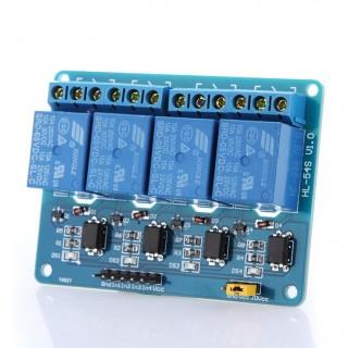 4-канальный релейный модуль 5В
