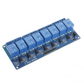 8-канальный релейный модуль 5В