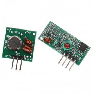 Комплект беспроводного приемника и передатчика 433МГц