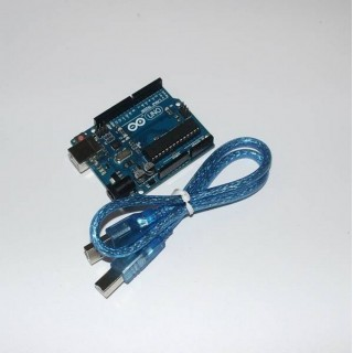 Arduino UNO R3(original) + USB-кабель