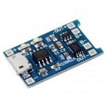 Зарядное устройство micro usb 5В (18650)
